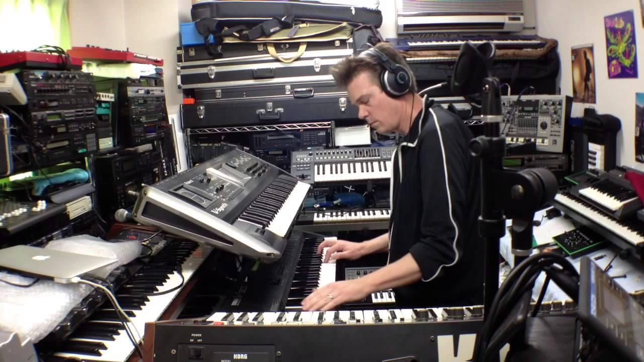 Day 4 - Yamaha V50 Synth Patch #4 - YouTube