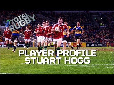 Stuart Hogg EXCLUSIVE on Comm Games, Murrayfield & British & Irish Lions