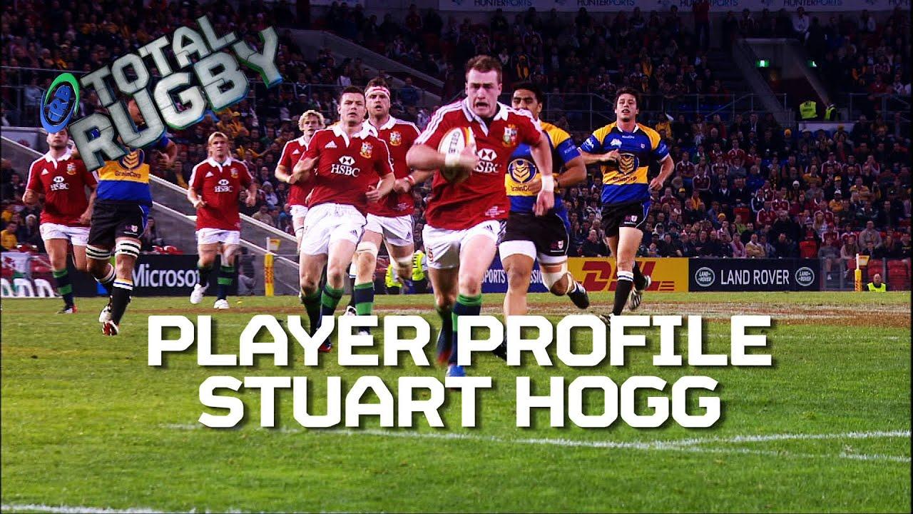 Stuart Hogg Exclusive On Comm Games Murrayfield British Irish