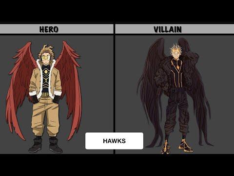 Download MY HERO ACADEMIA HEROES IN VILLAIN FORM   AnimeData PH   MHA   BNHA
