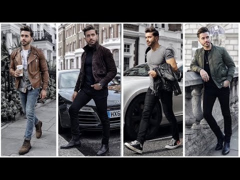 MENS OUTFIT INSPIRATION | Mens Fashion Lookbook Fall 2018 | 4 Easy Outfits for Men