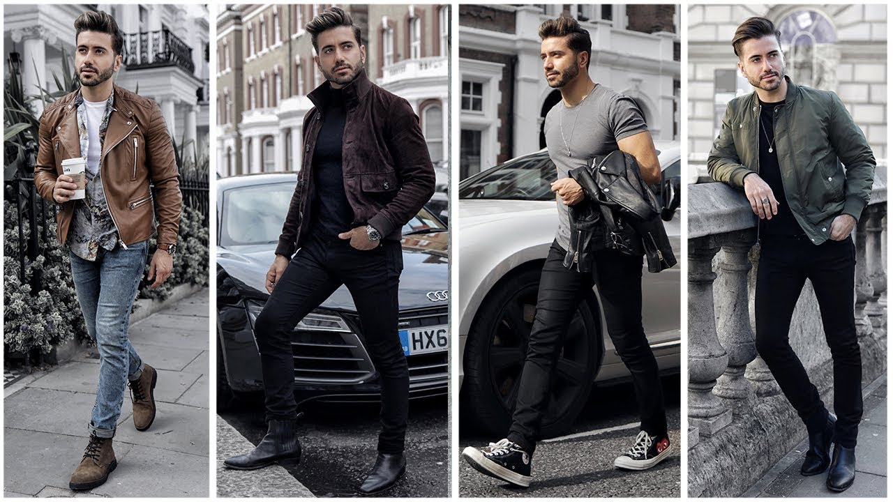 MEN'S OUTFIT INSPIRATION | Men's Fashion Lookbook Fall ...