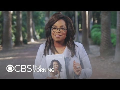 """Oprah selects """"Becoming"""" by Michelle Obama for next book club"""