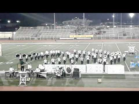 Palmdale high school marching 2017 at Wes Covina