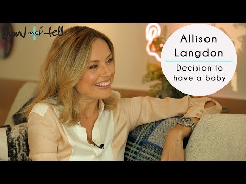 Allison Langdon: On The Decision To Have A Baby