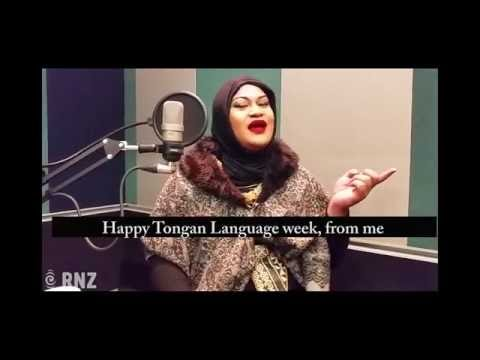 Ashley Tonga on why Tongan Language Week is important.