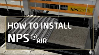 How to install NPS® AIR: column, beam and Airfloor Slab