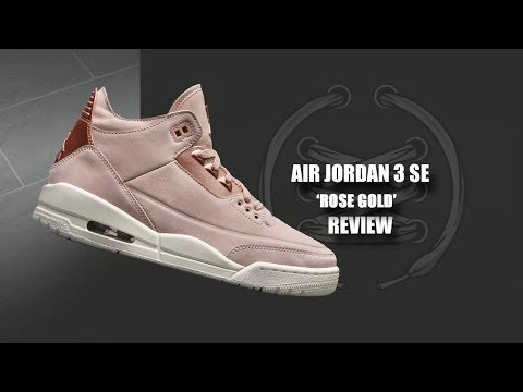 17c1c9575d5 The Women's Air Jordan 3 'Particle Beige' is a Premium Release for Lovers  of Rose Gold - WearTesters
