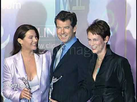 Pierce Brosnan at the Women in Film's Crystal Awards a