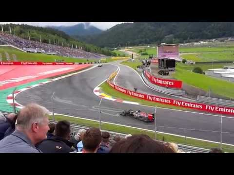 F1 Austrian Grand Prix 2015 Qualifying - View from the stands [HD 1080p]