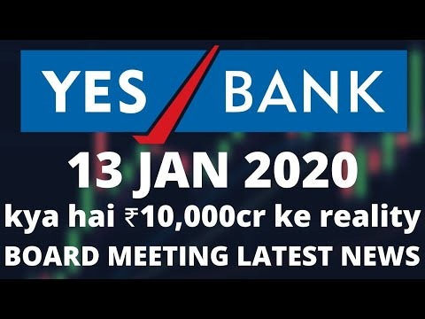 YES BANK News 13 JAN 2020 | YES BANK Share Price | YES BANK Technical Analysis