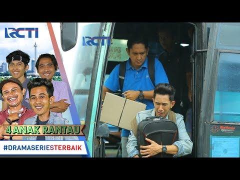 EMPAT ANAK RANTAU - Hahaha Malah Nutupin Orang Turun Bis [15 Januari 2018]