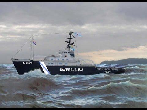 """""""NJ FISTERRA"""" remolcador salvamento. NAVIEIRA JALISIA. salvage tug."""