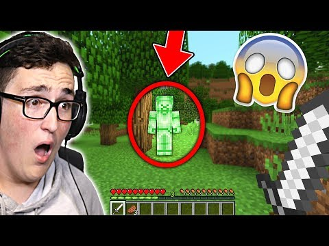 I FOUND GREEN STEVE IN MINECRAFT! (Scary Minecraft Video)