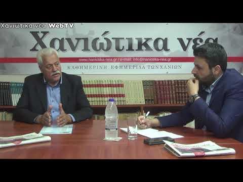 Χαράλαμπος Κουκιανάκης - Υποψήφιος Δήμαρχος Αποκόρωνα