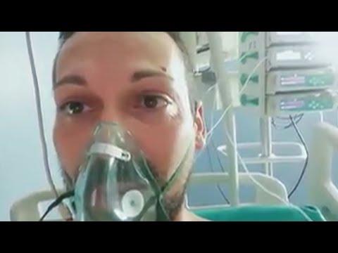 Aislamiento, muerte y desesperación: 'Esto no es un juego', dice un joven italiano enfermo