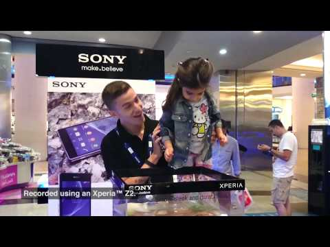 Xperia Z2 Roadshow in Mall of the Emirates