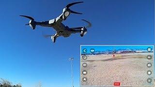 Tianqu Visuo XS816 Long Flying Optical Tracking FPV Camera Drone Flight Test Review