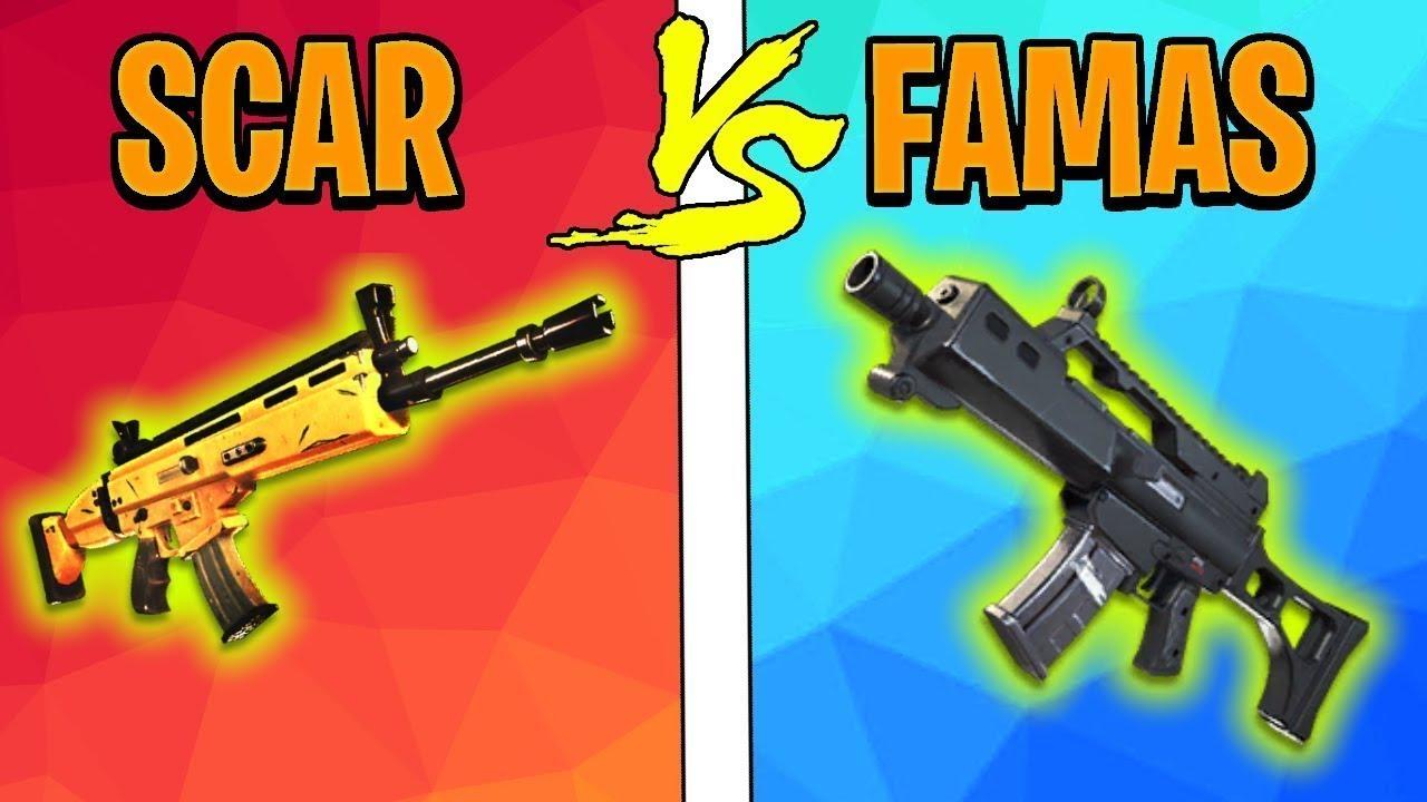 FAMAS vs SCAR - WAS IST BESSER? | Fortnite Battle Royale ...