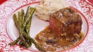 Mushroom Gravy Sauce: Recipe: How To Make: For Steak: W/red Wine: Di Kometa-dishin' With Di Rec. #46