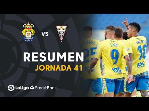 Resumen de UD Las Palmas vs Albacete BP (3-2)