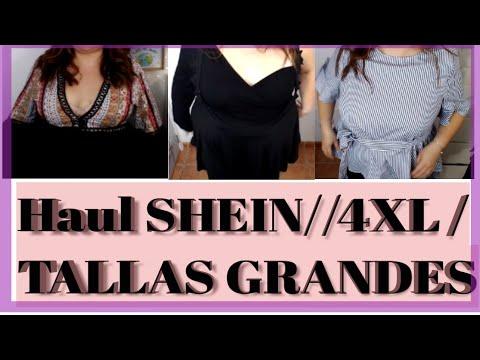 Haul Tallas Grandes Shein 4xl Plus Size Youtube