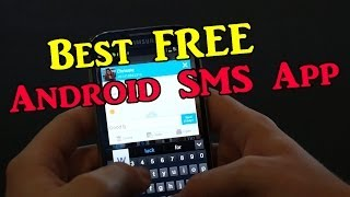 Best FREE Android SMS App - GO SMS Pro (Quick Reply, Emoticons, and Themes)