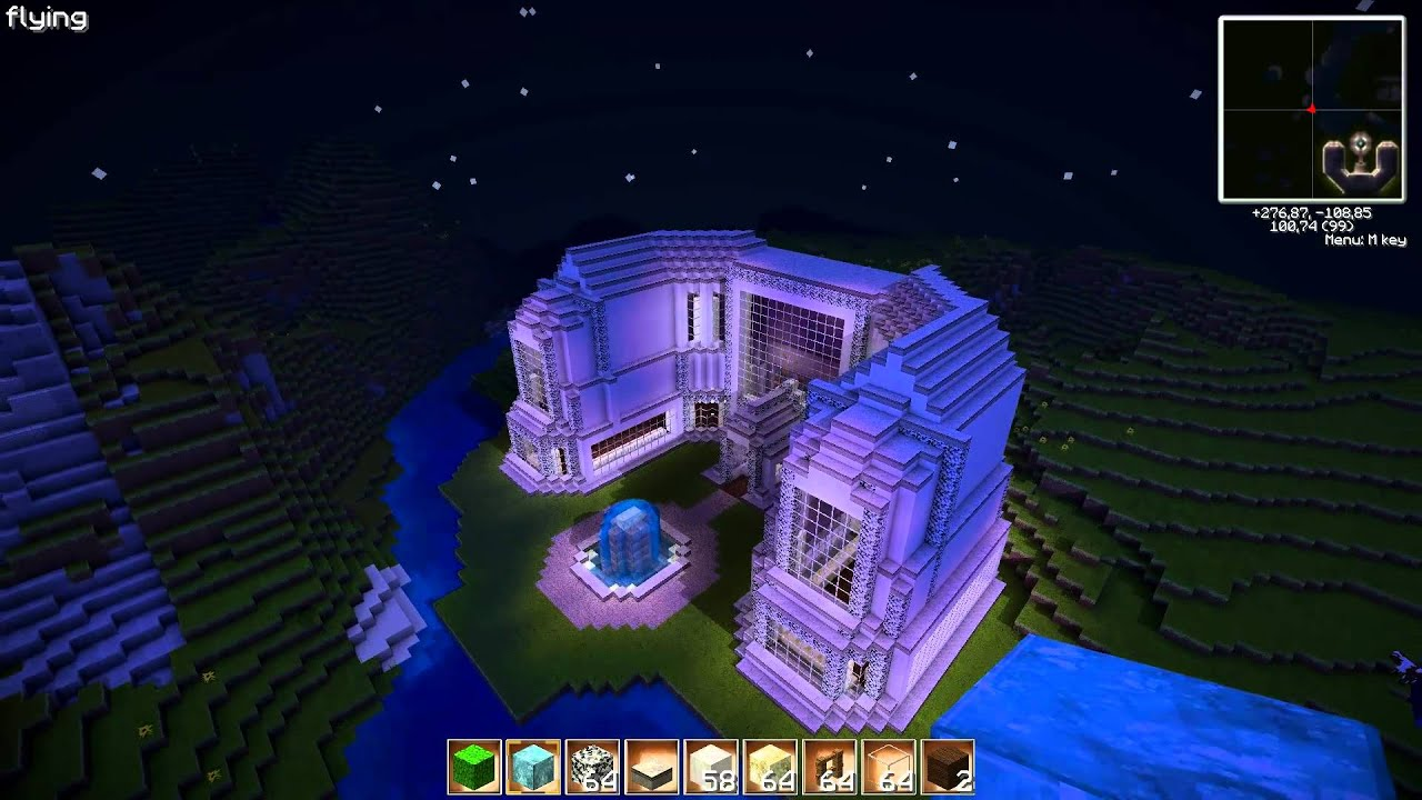 Minecraft Luxus Hotel Louger Hd