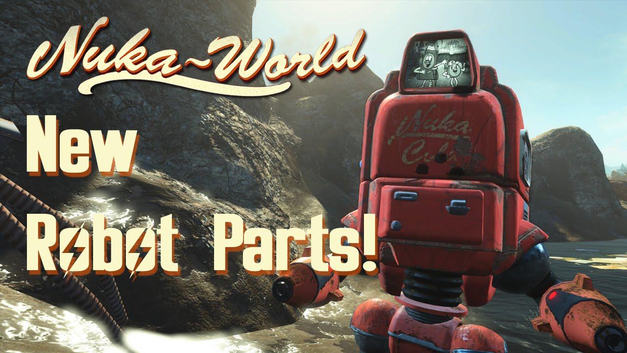 Nuka World All New Robot Parts YouTube