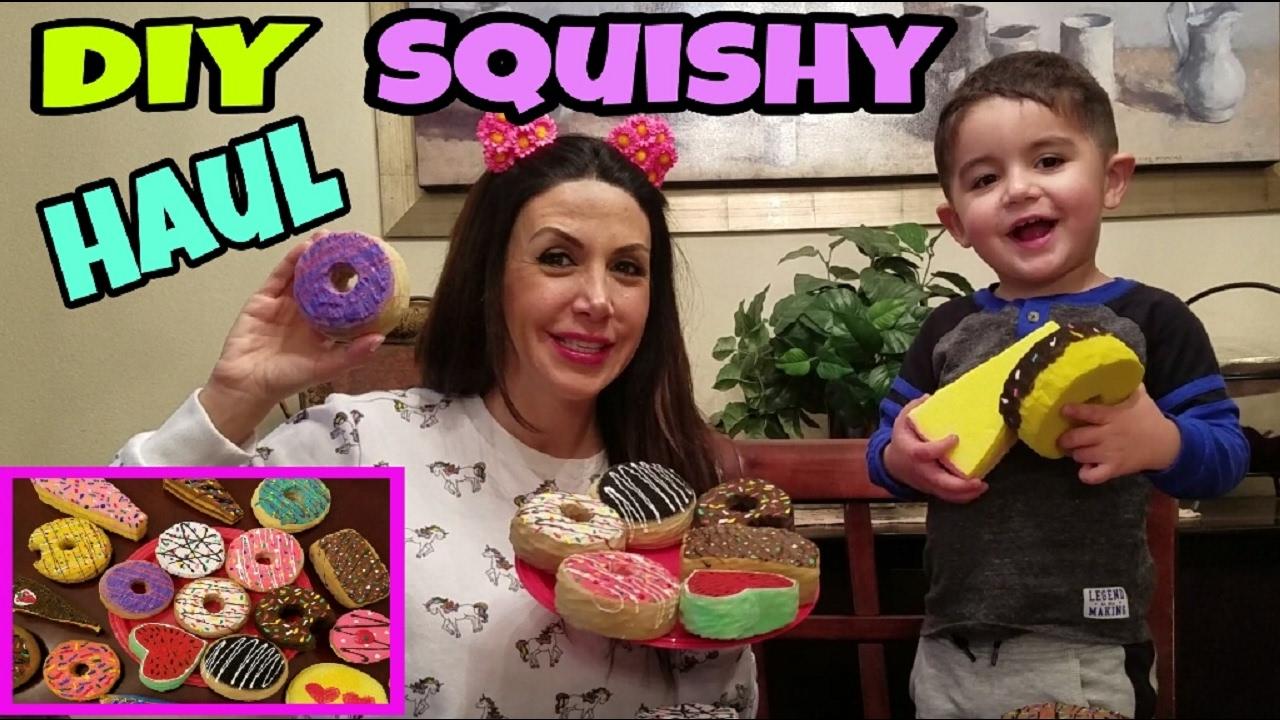 SQUISHY HAUL , DIY SQUISHY HAUL - YouTube