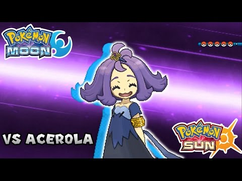 Acerola pokemon sun and moon