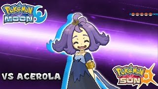 Pokemon Sun & Moon - Battle! Elite Four Acerola (HQ)