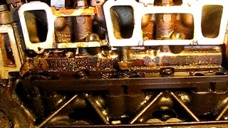 3.4L GM lower manifold gasket replacement part 4: Removing valve covers and lower manifold
