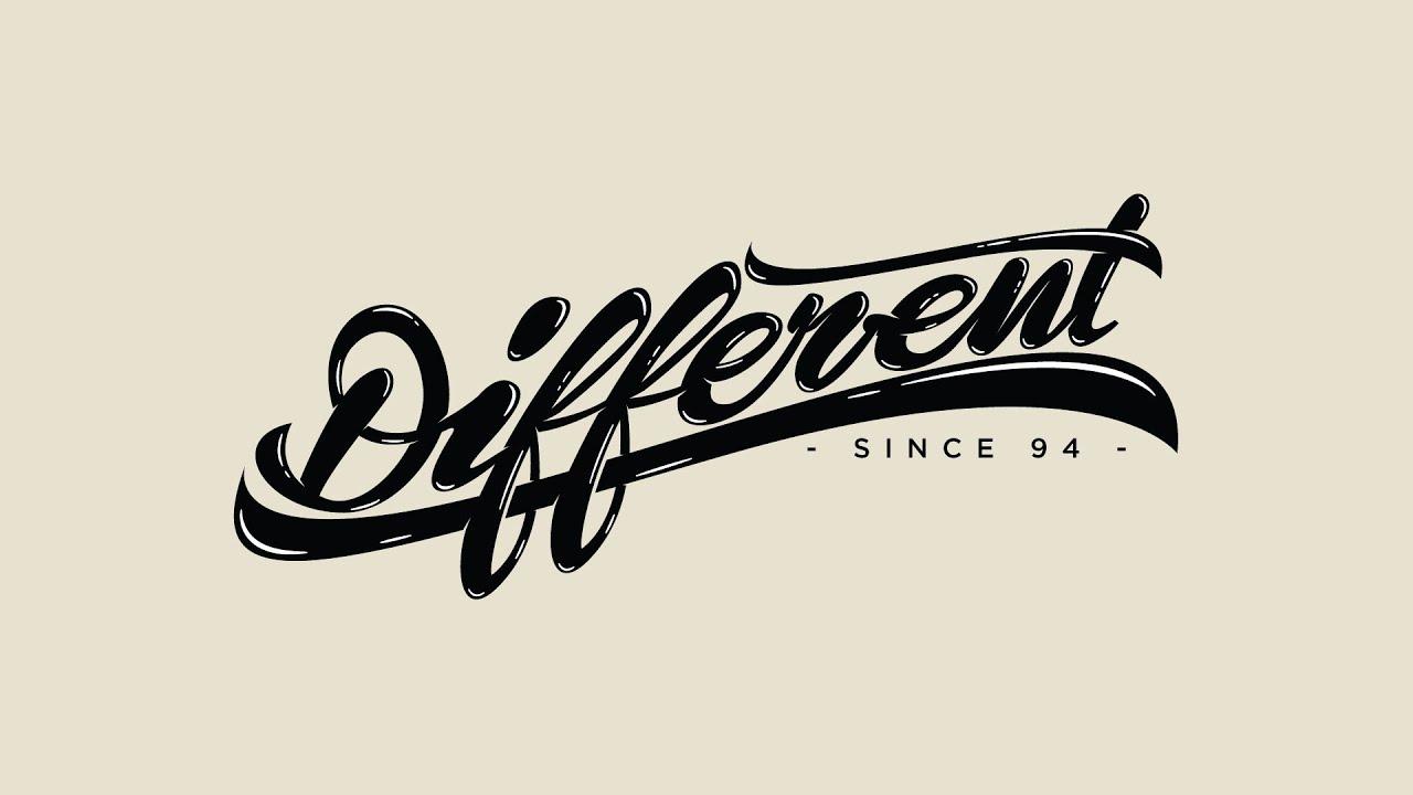 Shirt design fonts - Speed Art Different Since 94 T Shirt Design