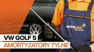 Jak wymienić amortyzatory tylne w VW GOLF 5 TUTORIAL | AUTODOC