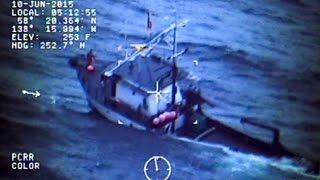 U.s. Coast Guard Air Station Sitka Rescues Crew In Gulf Of Alaska