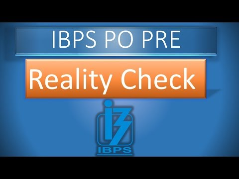 IBPS PO Pre Expected Cut-Off 2018? Reality Check || Important 3 points || IBPS PO