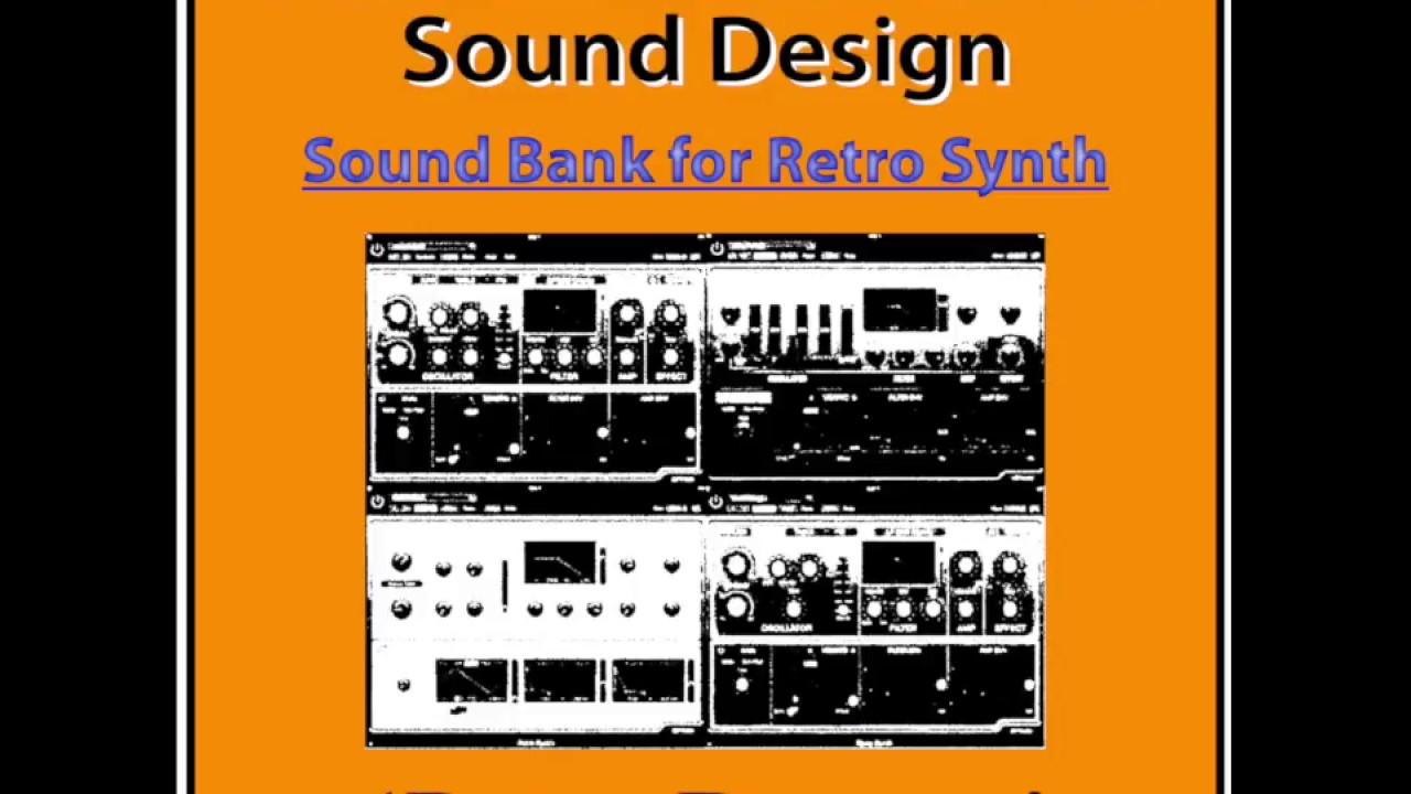 Logic Pro X - Retro Synth sound bank 'Retro Dreams' released