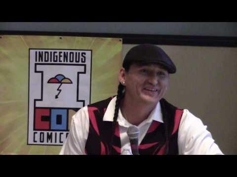 Indigenous Comic Con 2017 - Isleta Resort & Casino | Eugene Brave Rock Clip 2