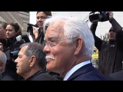 Derek Sanderson Interview at Bobby Orr Statue Unveiling at TD Garden