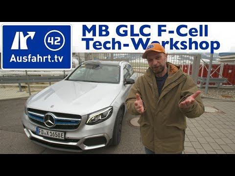 2018 Mercedes-Benz GLC F-Cell Tech-Workshop / Mitfahrt