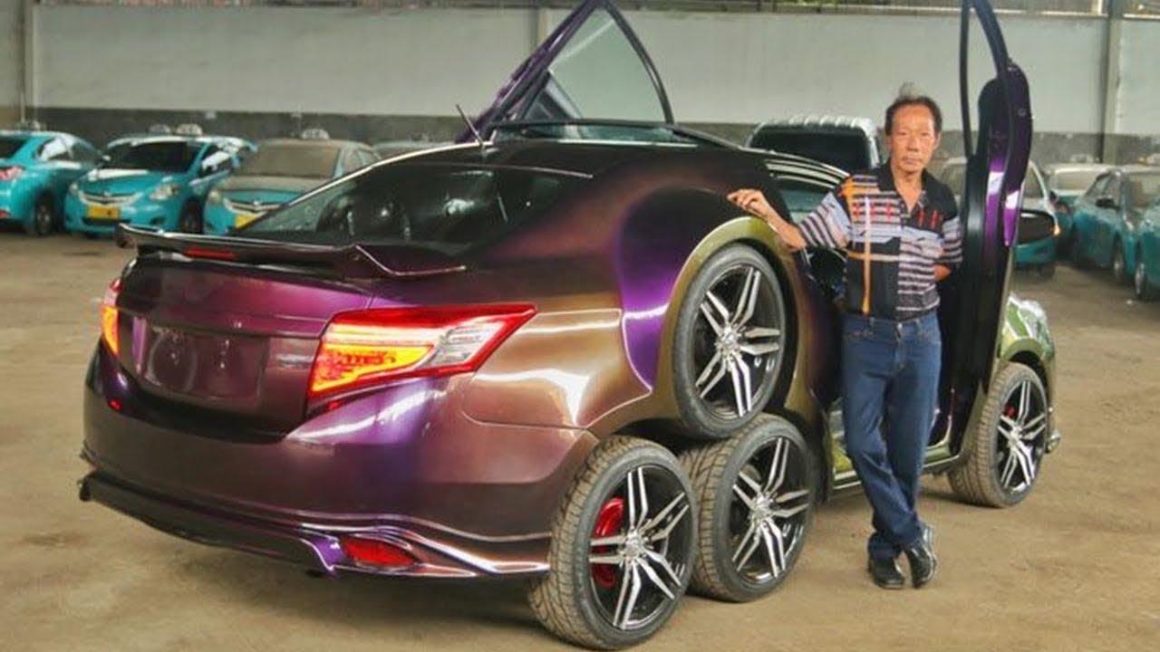 10 Strange Cars in the World / दुनिया की 10 सबसे अजीब कारें