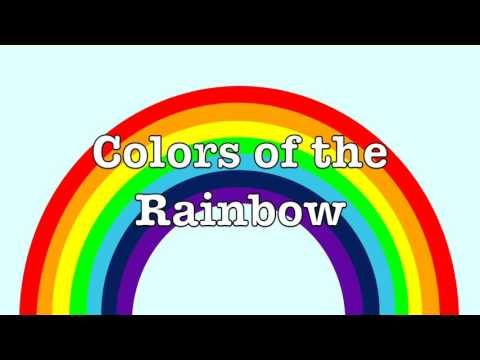 Colors of a Rainbow for kids   What colors are in a rainbow?   How many colors does a rainbow have?