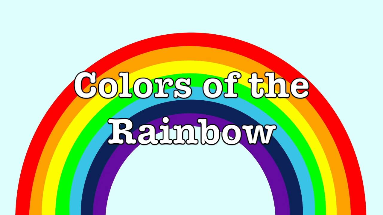 Colors Of A Rainbow For Kids What Colors Are In A Rainbow How Many Colors Does A Rainbow Have Youtube
