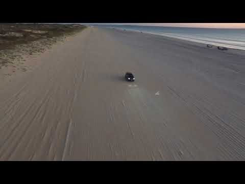 Cable Beach Australia - Camels, shadows and driving with Drones