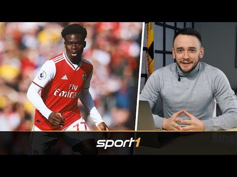 Wie Bayerns Davies: 18-Jähriger Saka ist Arsenals Hoffnungsträger   SPORT1 - TALENT WATCH