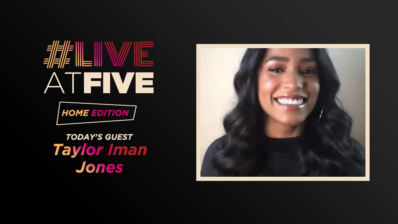 Download Broadway.com #LiveatFive: Home Edition with Taylor Iman Jones