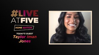Broadway.com #LiveatFive: Home Edition with Taylor Iman Jones