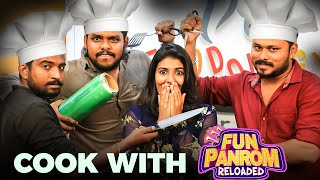 Fun Panrom Team's Cooking Bloopers Ft. Vj Sidhu, Ram Nishanth, Sherif | Black Sheep