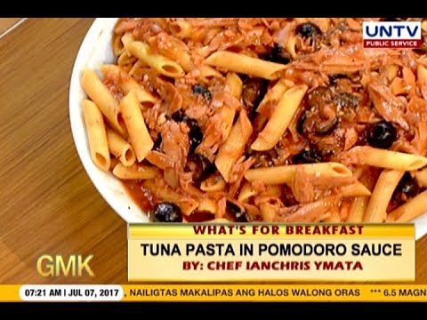 Mouthwatering Tuna Pasta in Pomodoro Sauce | What's for Breakfast